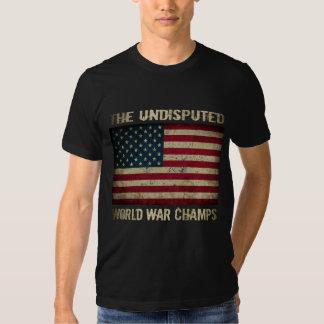 Undisputed World War Champions (distressed) T Shirt