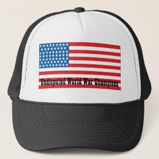 Undisputed world war champions trucker hat