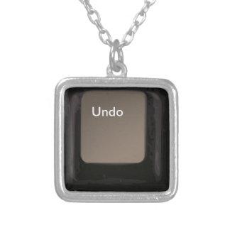 Undo Button / Key Necklaces