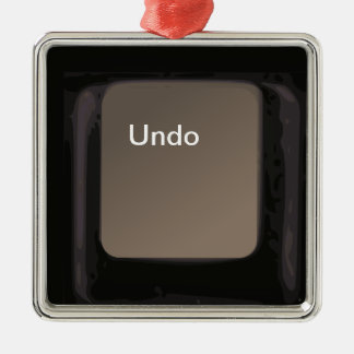Undo Button / Key Ornament