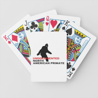 Undocumented North American Primate Bicycle Playing Cards