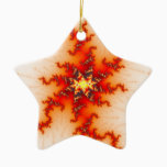 Undone Fractal Ceramic Ornament