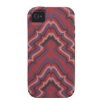Undulating Lines wallpaper, 1966-1968 Case For The iPhone 4