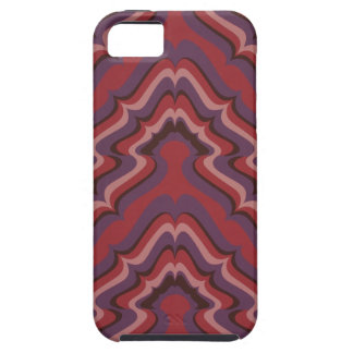 Undulating Lines wallpaper, 1966-1968 iPhone 5 Case