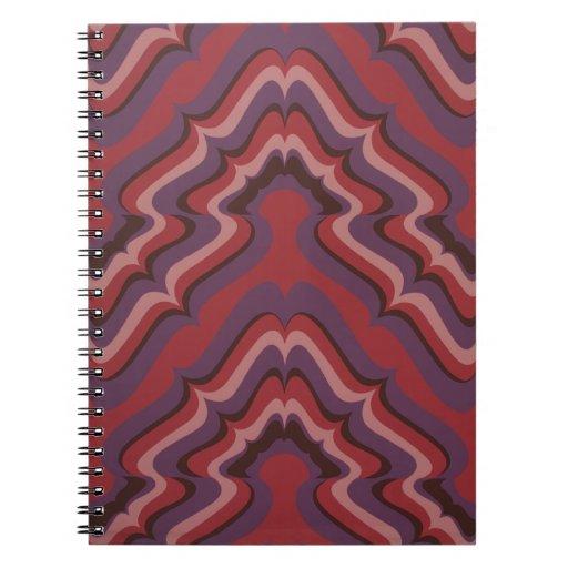 Undulating Lines wallpaper, 1966-1968 Notebooks