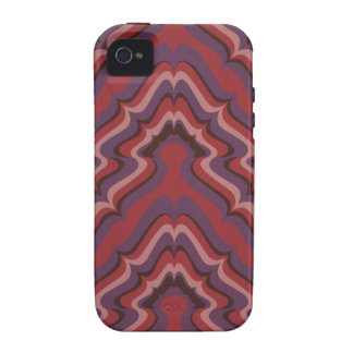 Undulating Lines wallpaper, 1966-1968 Vibe iPhone 4 Cover