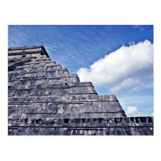 Undulating Serpent Shape Of El Castillo Postcard