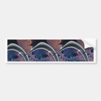 Undulation Bumper Sticker