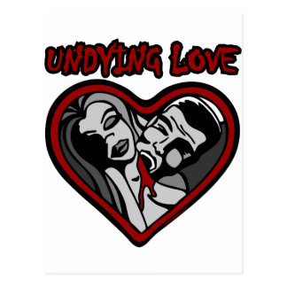 UNDYING LOVE POSTCARD
