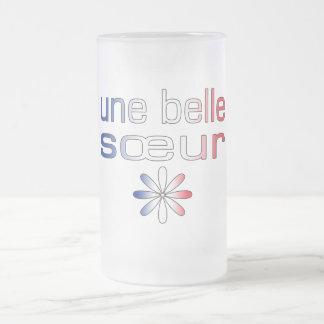 Une Belle Sœur France Flag Colors Mugs