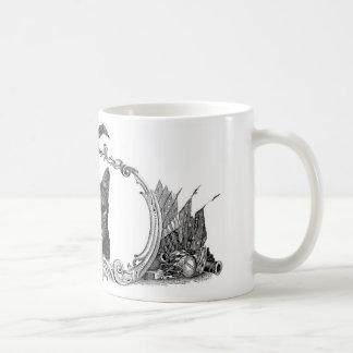 Une estados de gatos taza de café
