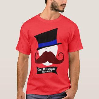 Une Moustache Fabuleux T-Shirt