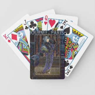 Une Valentine Parisienne Bicycle Playing Cards