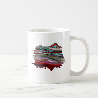 """""""Unearthly Distortion"""" Classic White Mug"""