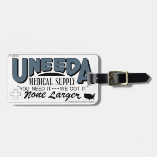 Uneeda Medical Supply (Return of the Living Dead) Luggage Tag