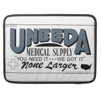 Uneeda Medical Supply (Return of the Living Dead) MacBook Pro Sleeves
