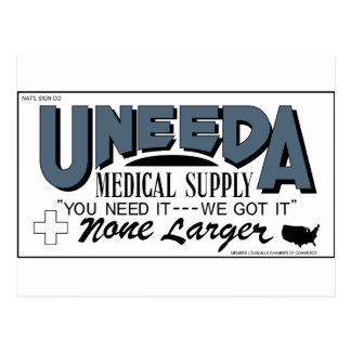 Uneeda Medical Supply (Return of the Living Dead) Postcard