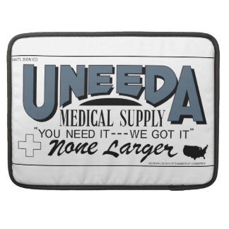Uneeda Medical Supply (Return of the Living Dead) Sleeve For MacBook Pro