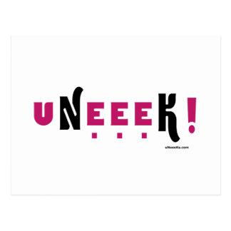 uNeeeK (Original, unique, extraordinaary) Postcard