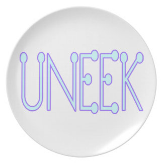 Uneek Unique Dinner Plate