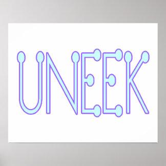 Uneek Unique Poster