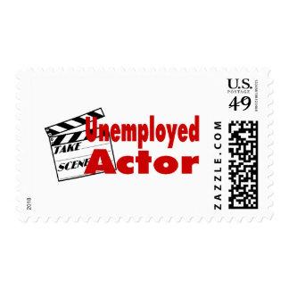Unemployed Actor Postage