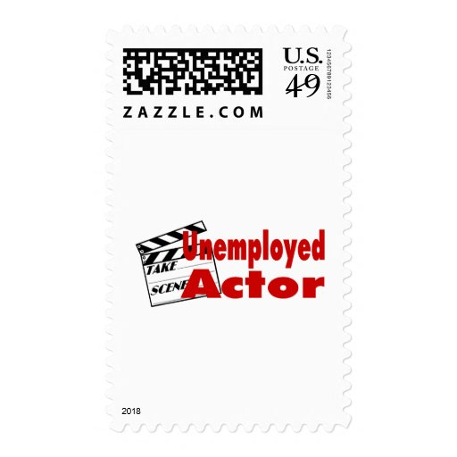 Unemployed Actor Postage