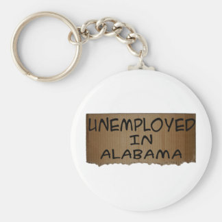 UNEMPLOYED IN ALABAMA KEYCHAIN