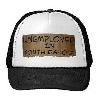 UNEMPLOYED IN SOUTH DAKOTA TRUCKER HAT