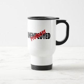 Unemployed Producer (Blk) 15 Oz Stainless Steel Travel Mug