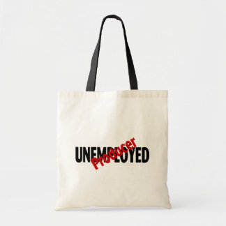 Unemployed Producer (Blk) Tote Bag