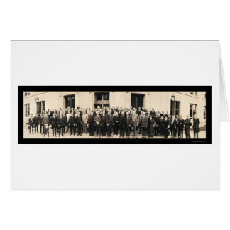 Unemployment Harding Photo 1921 Greeting Cards