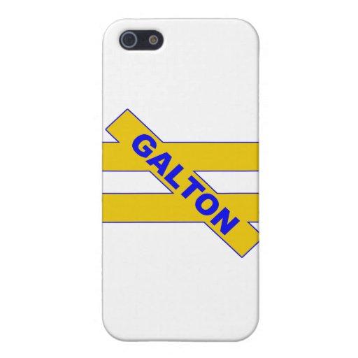 Unequality - Francis Galton iPhone 5 Carcasas