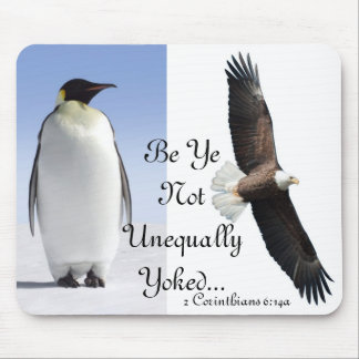 Unequally Yoked. IV Mouse Pad