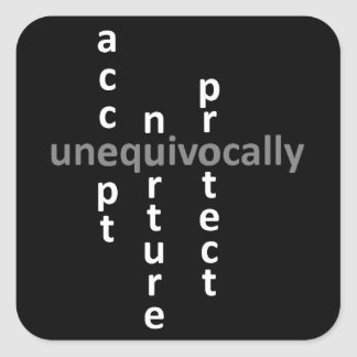 unequivocal acceptance, sticker