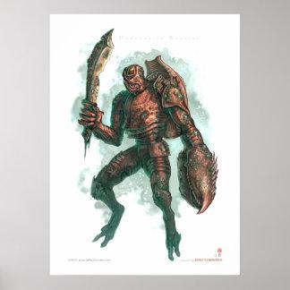 Unerwater Warrior Poster