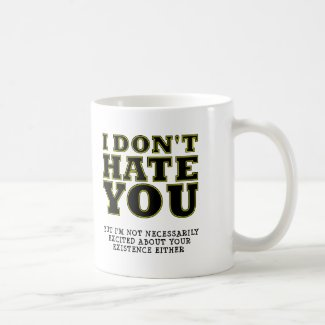 Unexcited Existence Funny Mug