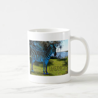 Unexpected Flying Zebra Coffee Mug