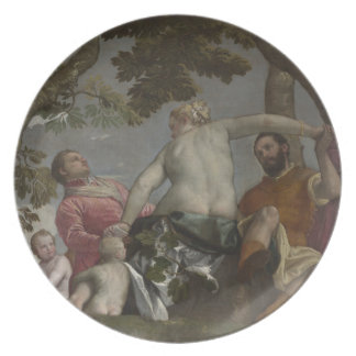 Unfaithfulness by Paolo Veronese Dinner Plate