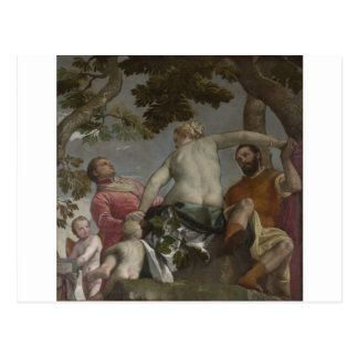 Unfaithfulness by Paolo Veronese Postcard