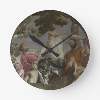 Unfaithfulness by Paolo Veronese Round Clock