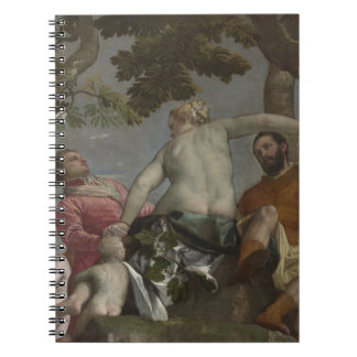 Unfaithfulness by Paolo Veronese Spiral Notebook