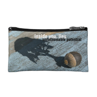 """unfathomable potential"" COSMETIC BAG"
