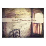 Unfinished Antique Sunlit Window in Attic Large Business Cards (Pack Of 100)