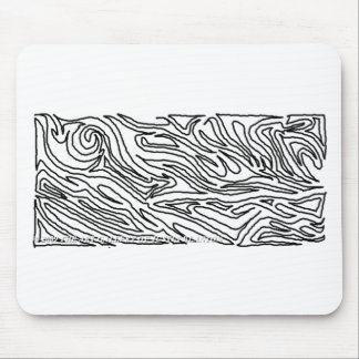 Unfinished Labyrinth Mouse Pad