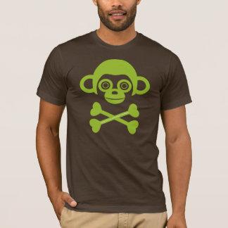 Unfinished monkeys skull shirt