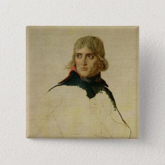 Unfinished portrait of General Bonaparte Pinback Button