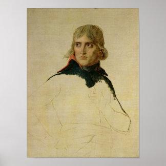 Unfinished portrait of General Bonaparte Poster