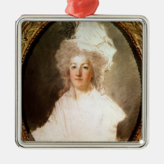Unfinished portrait of Marie-Antoinette Metal Ornament