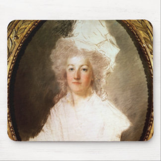 Unfinished portrait of Marie-Antoinette Mouse Pad